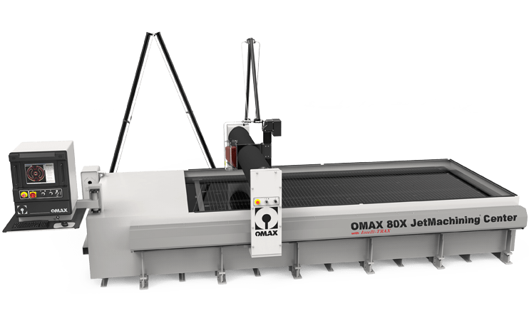 OMAX 80X water snijmachines