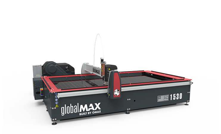 Waterjetmachines GlobalMAX 1530