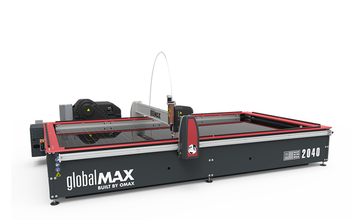 Waterjetmachines GlobalMAX 2040